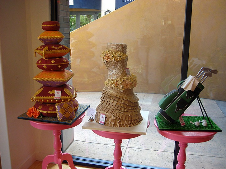 Classic Cakes Display Cakes1