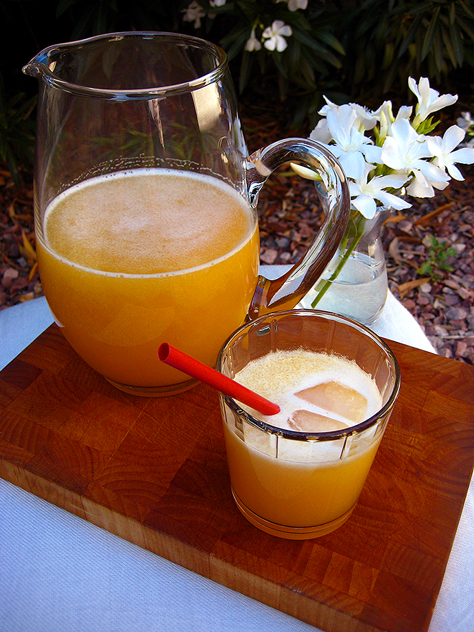 Honeyed Peach Aguas Frescas