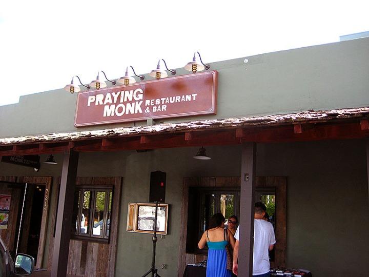 Praying Monk Front