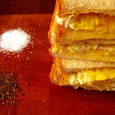 summertime fried egg sandwich