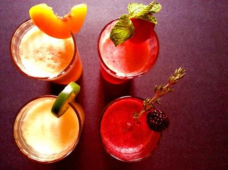 sparkling fruit sodas