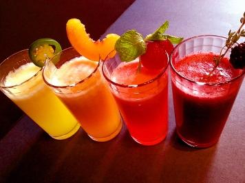 sparkling fruit sodas!