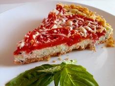 tomato + ricotta tart
