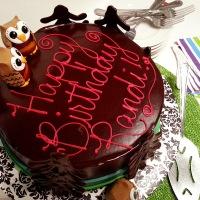 an owl cake for randi