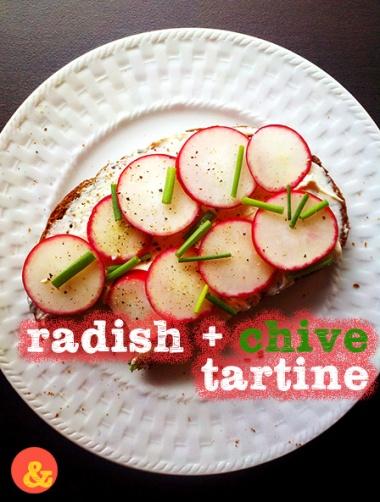 RadishChiveTartine