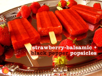 StrawberryBalsamicPopsicles