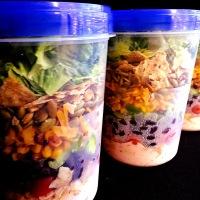 salad jar shenanigans (happy blogiversary!)