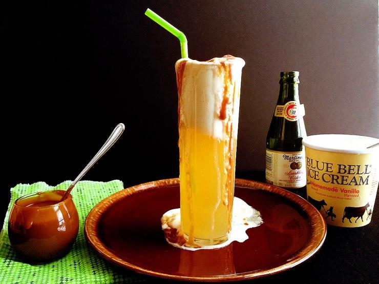 sparkling cider float 10