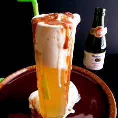 sparkling cider float 3