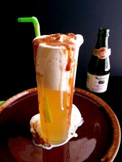 sparkling cider float 3