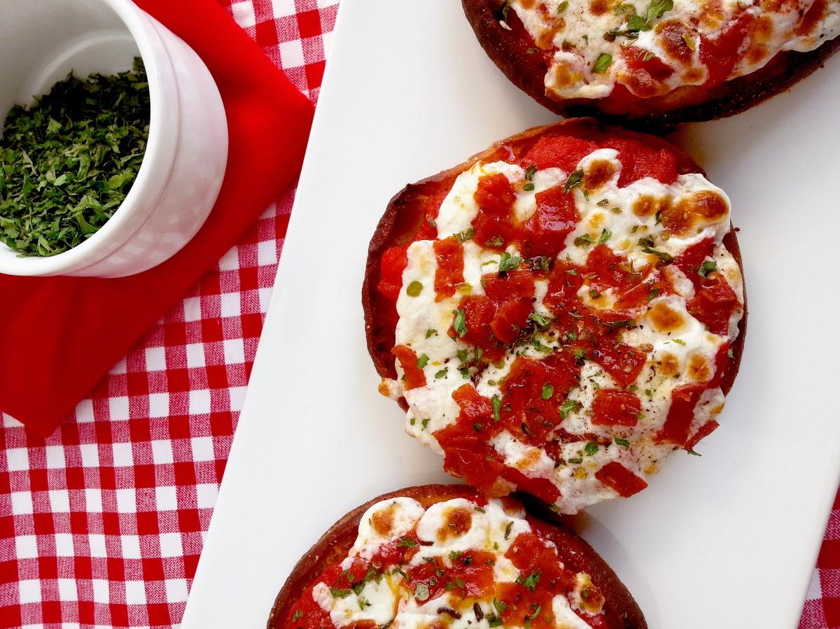 English Muffin Pizzas Oven Apron